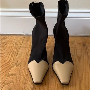 celine madame ankle boots